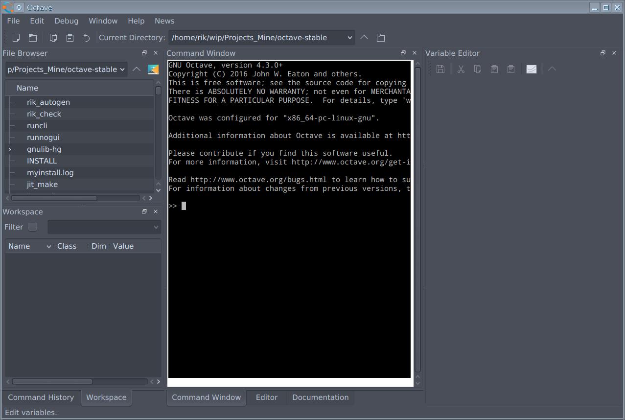 GNU Octave - Bugs: bug #53276, GUI: undocked panes cannot be
