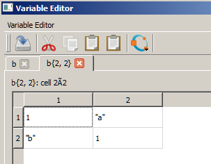 GNU Octave - Patches: patch #8656, Variable Editor (expanded